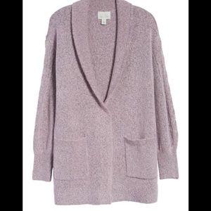 Hinge Mauve Pink Sweater